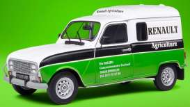 Renault  - 4 LF4 1988 white/green - 1:18 - Solido - 1802205 - soli1802205 | The Diecast Company