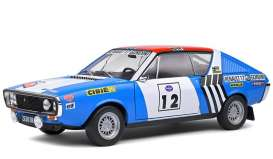 Renault  - R17 blue/white - 1:18 - Solido - 1803703 - soli1803703 | The Diecast Company