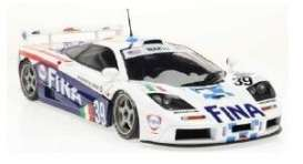 McLaren  - F1 GTR white/blue - 1:18 - Solido - 1804103 - soli1804103 | The Diecast Company