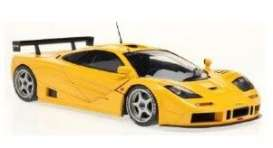 McLaren  - F1 GTR orange-yellow - 1:18 - Solido - 1804104 - soli1804104 | The Diecast Company