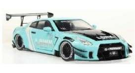 Nissan  - GTR 35 mint green - 1:18 - Solido - 1805804 - soli1805804 | The Diecast Company