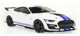 Ford  - Mustang 2020 white - 1:18 - Solido - 1805904 - soli1805904 | The Diecast Company