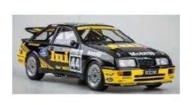Ford  - Sierra 1989 black/yellow - 1:18 - Solido - 1806101 - soli1806101 | The Diecast Company