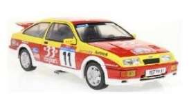 Ford  - Sierra 1987 red/yellow - 1:18 - Solido - 1806103 - soli1806103 | The Diecast Company
