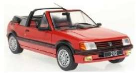 Peugeot  - 205  1989 red - 1:18 - Solido - 1806201 - soli1806201 | The Diecast Company