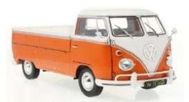 Volkswagen  - T1 1950 orange/white - 1:18 - Solido - 1806701 - soli1806701 | The Diecast Company