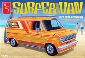 Ford  - Surfer Van 1977  - 1:25 - AMT - s1229M - amts1229M | The Diecast Company