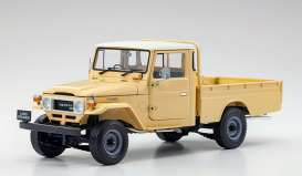 Toyota  - Land Cruiser  beige - 1:18 - Kyosho - 08958BE - kyo8958BE | The Diecast Company