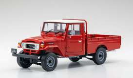 Toyota  - Land Cruiser  red - 1:18 - Kyosho - 08958R - kyo8958R | The Diecast Company