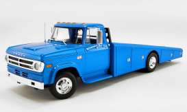 Dodge  - D300 Ramp Truck 1970 corporate blue - 1:18 - Acme Diecast - 1801905 - acme1801905 | The Diecast Company