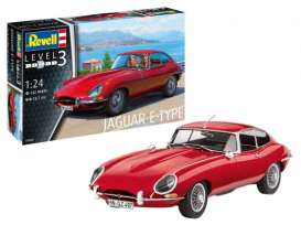 Jaguar  - E-Type (Coupé) 2013  - 1:24 - Revell - Germany - 67668 - revell67668 | The Diecast Company