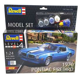 Pontiac  - Firebird 1970  - 1:24 - Revell - Germany - 67672 - revell67672 | The Diecast Company