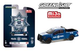 Ford  - F-150 *SSp* 2017 blue/white - 1:64 - GreenLight - 51380 - gl51380 | The Diecast Company