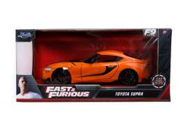 Toyota  - Supra F&F F9 2020 orange/black - 1:24 - Jada Toys - 92097 - jada92097 | The Diecast Company