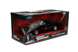 Dodge  - Charger F&F 1970 black - 1:24 - Jada Toys - 31942 - jada31942 | The Diecast Company