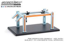 Accessoires diorama - light blue/orange - 1:64 - GreenLight - 16100B - gl16100B | The Diecast Company