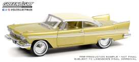 Plymouth  - Belvedere 1957 dessert gold - 1:24 - GreenLight - 18260 - gl18260 | The Diecast Company