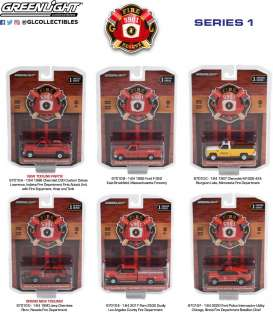 Assortment/ Mix  - various - 1:64 - GreenLight - 67010 - gl67010 | The Diecast Company