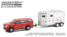 Chevrolet  - Tahoe 2020 red - 1:64 - GreenLight - 32230C - gl32230C | The Diecast Company
