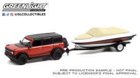Ford  - Bronco 2021 red/black - 1:64 - GreenLight - 32230D - gl32230D | The Diecast Company