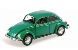 Volkswagen  - 1500 1983 green - 1:18 - Minichamps - 150057105 - mc150057105 | The Diecast Company