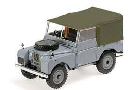 Land Rover  - 1948 grey - 1:18 - Minichamps - 150168913 - mc150168913 | The Diecast Company
