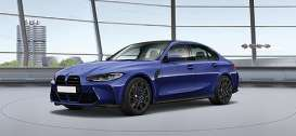 BMW  - M3 2020 blue - 1:18 - Minichamps - 155020201 - mc155020201 | The Diecast Company
