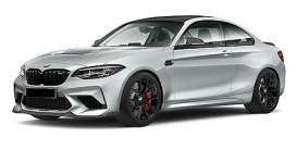 BMW  - M2 CS 2020 silver metallic - 1:18 - Minichamps - 155021024 - mc155021024 | The Diecast Company