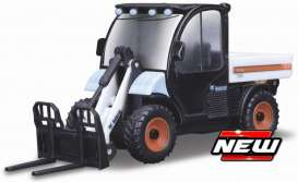 Bobcat  - 5600 black/white - Bburago - 31806 - bura31806 | The Diecast Company