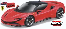 Ferrari  - red/black - 1:43 - Bburago - 36911 - bura36911 | The Diecast Company