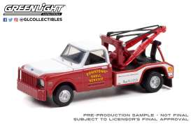 Chevrolet  - C-30 1972 red/white - 1:64 - GreenLight - 46080B - gl46080B | The Diecast Company