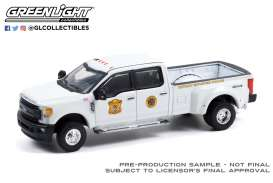 Ford  - F-350 2017 white - 1:64 - GreenLight - 46080D - gl46080D | The Diecast Company