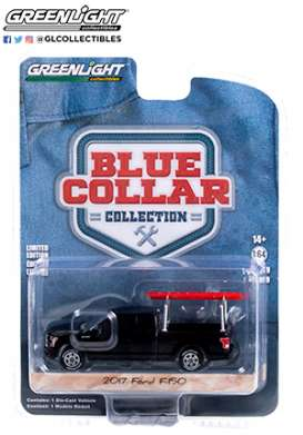 Chevrolet  - F-150 2017 black - 1:64 - GreenLight - 35200F - gl35200F | The Diecast Company