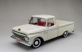 Ford  - F-100 pick-up 1965 white - 1:18 - SunStar - 1302 - sun1302 | The Diecast Company