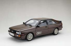 Audi  - Quattro coupe 1983 havana brown - 1:18 - SunStar - 4162 - sun4162 | The Diecast Company