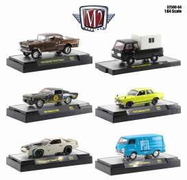 Assortment/ Mix  - various - 1:64 - M2 Machines - 32500-64 - M2-32500-64 | The Diecast Company