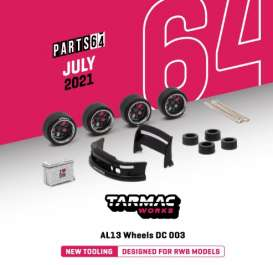 Rims & tires Accessoires - 2020 chrome/gun metal - 1:64 - Tarmac - T64-005CH - TC-T64-005CH | The Diecast Company
