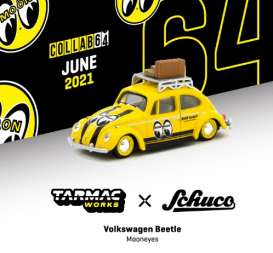 Volkswagen  - Beetle yellow/black - 1:64 - Tarmac - T64S-006-ME1 - TC-T64S006ME1 | The Diecast Company