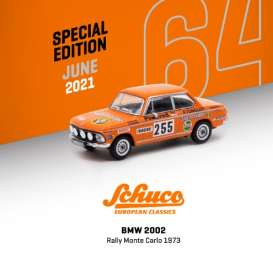 BMW  - 2002 orange - 1:64 - Tarmac - T64S-007-JAG - TC-T64S007JAG | The Diecast Company