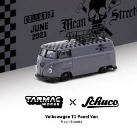 Volkswagen  - T1 Panel Van grey - 1:64 - Tarmac - T64S-005-FAT - TC-T64S005FAT | The Diecast Company