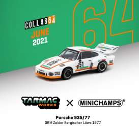 Porsche  - 935/77 white/orange - 1:64 - Tarmac - T64MC-002-VAL - TC-T64MC002VAL | The Diecast Company