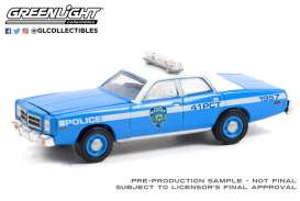 Dodge  - Monaco 1978 blue - 1:64 - GreenLight - 30292 - gl30292 | The Diecast Company