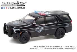 Chevrolet  - Tahoe 2021 black - 1:64 - GreenLight - 30293 - gl30293 | The Diecast Company