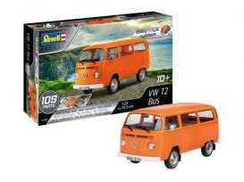Volkswagen  - T2 bus  - 1:24 - Revell - Germany - 07667 - revell07667 | The Diecast Company