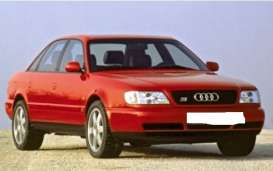 Audi  - A6 1997 red - 1:43 - Maxichamps - 940017100 - mc940017100 | The Diecast Company