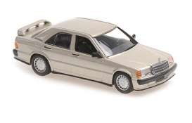 Mercedes Benz  - 190  E 2,3-16 1984 gold metallic - 1:43 - Maxichamps - 940035600 - mc940035600 | The Diecast Company