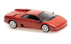 Lamborghini  - Diablo 1994 red - 1:43 - Maxichamps - 940103570 - mc940103570 | The Diecast Company