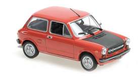 Autobianchi  - A112 Abarth 1974 red - 1:43 - Maxichamps - 940121171 - mc940121171 | The Diecast Company