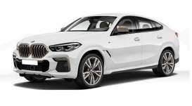 BMW  - x6 2020 white - 1:87 - Minichamps - 870020520 - mc870020520 | The Diecast Company