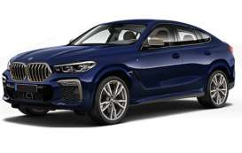 BMW  - x6 2020 blue metallic - 1:87 - Minichamps - 870020521 - mc870020521 | The Diecast Company